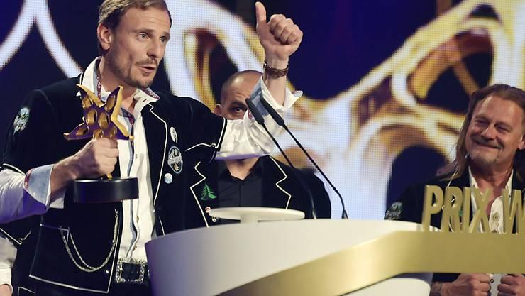 """In der Kategorie der volkstümlichen Musik gewann der Männerchor """"Heimweh""""."""