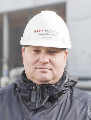 Lukas Vetsch, Bauleiter der Generalunternehmerin ADTinnova