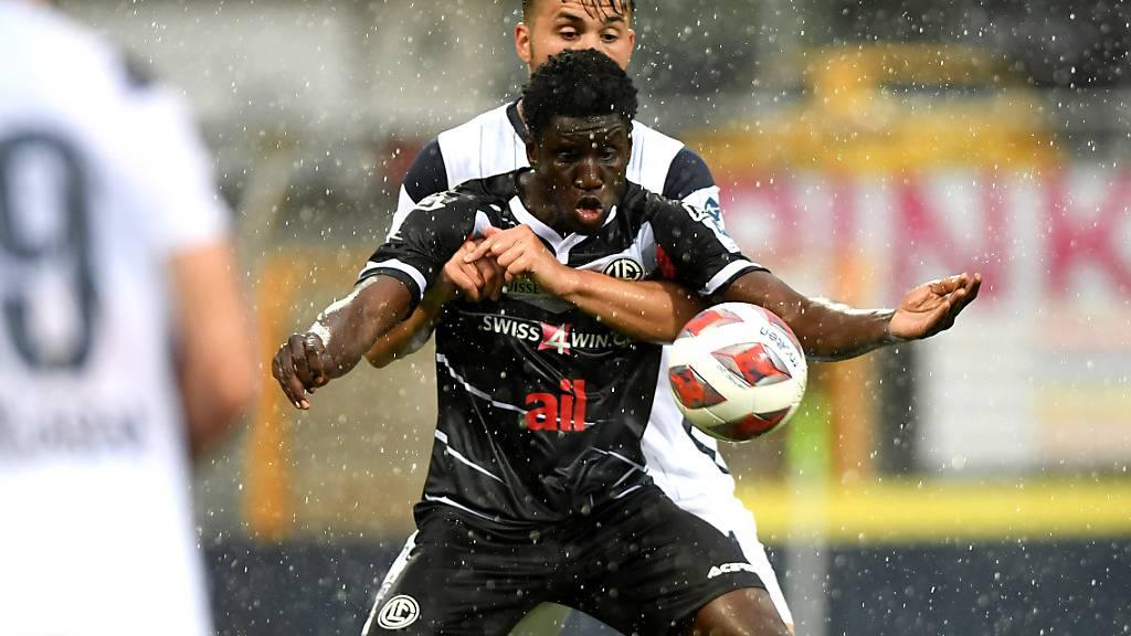 Lief nur in drei Spielen für den FC Lugano auf: Demba Ba
