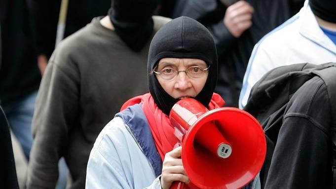 Die bereits mehrfach vorbestrafte Autonomen-Anführerin war wegen zwei Fällen von Landfriedensbruch angeklagt.