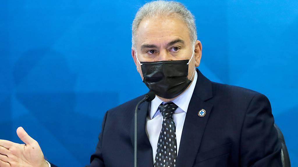 Bei UN-Besuch: Brasiliens Gesundheitsminister Corona-positiv getestet