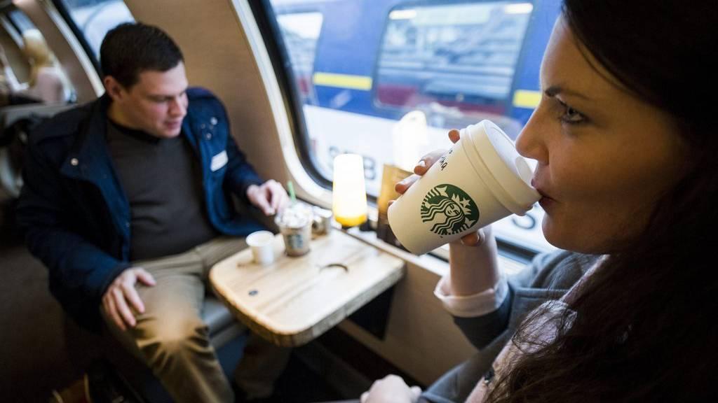 Ein Starbucks-Wagen soll durch eine Bier-Lounge ersetzt werden.