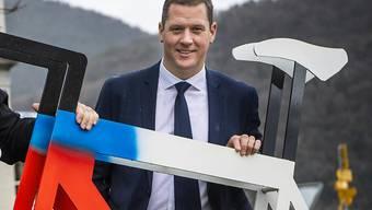 Grégory Devaud ist Co-Präsident des Organisationskomitees der Strassen-WM 2020 in Aigle/Martigny
