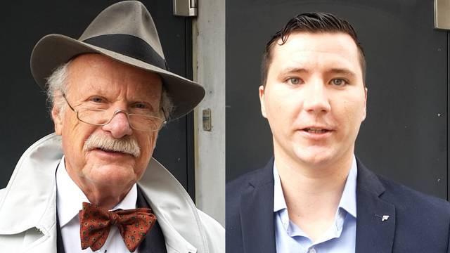 Inwiefern ist Ihr Alter ein Plus? Die Antworten der Gemeinderatskandidaten Kurt Strittmatter (73) und Timon Gischig (23).
