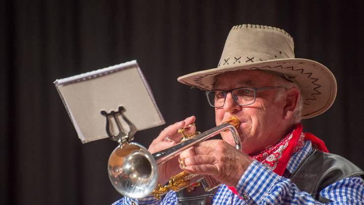 Martin Lüthi, Trompete, Vereinsmusik Kriegstetten