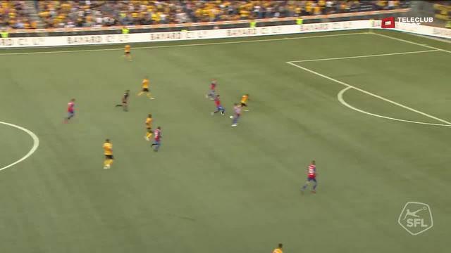 Super League, 2018/19, 7. Runde YB - FC Basel 7:1 Roger Assalé