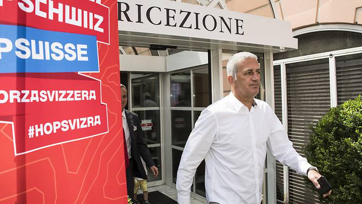 Vladimir Petkovic zeigt sich zum Start der WM-Vorbereitung in Lugano sehr entschlossen