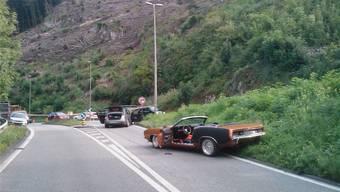 An einem Sonntag im August 2009 kam es auf der A18 zu einer filmreifen Verfolgungsjagd, die bei Angenstein in einem Gerangel zwischen zwei Polizisten und dem renitenten Raser endete.