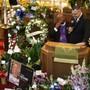 An der Trauerfeier für ein Opfer des Amoklaufs von El Paso nahmen Hunderte Menschen teil.