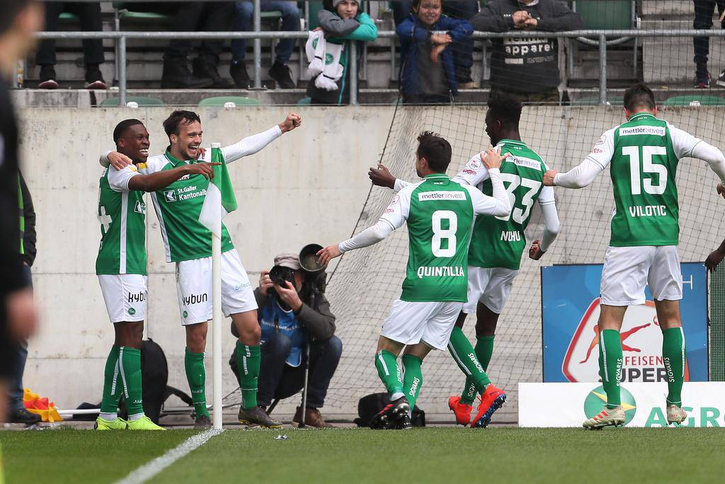 FC St.Gallen gegen FC Sion (© Keystone)