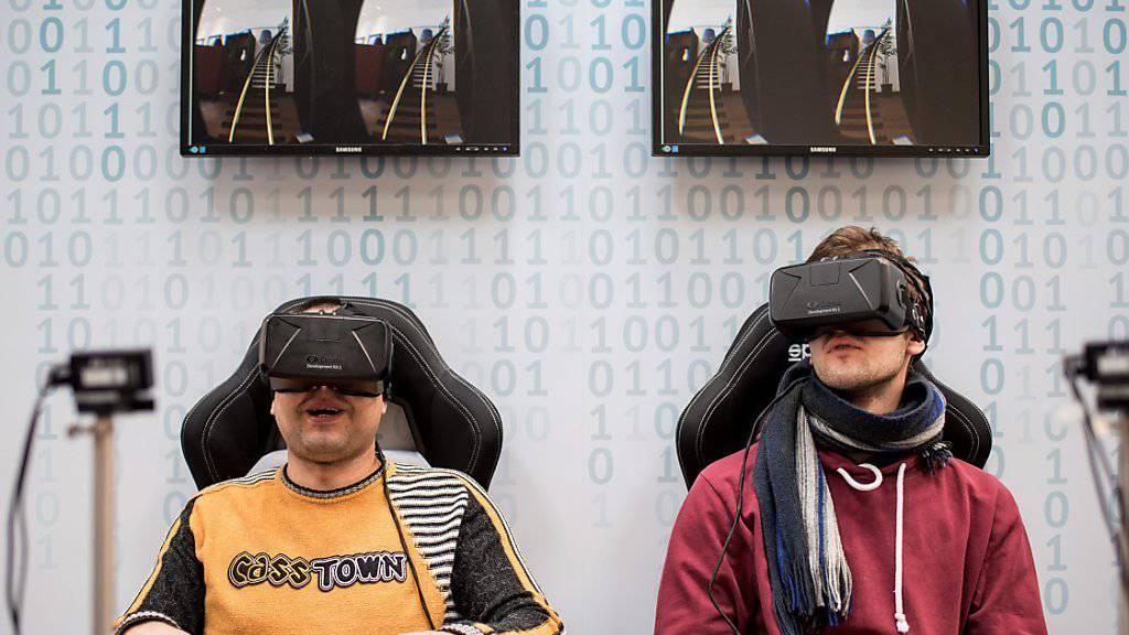 Oculus gilt als treibende Kraft im Trend zur virtuellen Realität. (Symbolbild)