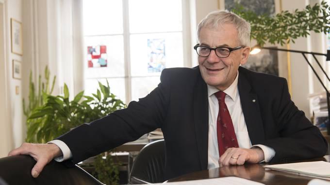 Stadtpräsident Kurt Fluri zur mit Spannung erwarteten Nachfolge-Kandidatur der FDP: «Wir sind noch früh dran.»
