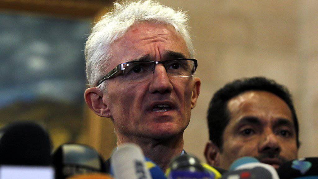 UNO-Nothilfekoordinator Mark Lowcock hat die katastrophale humanitäre Lage im Jemen angeprangert. Er forderte die Konfliktparteien zur Einhaltung des humanitären Völkerrechts auf. (Archivbild)