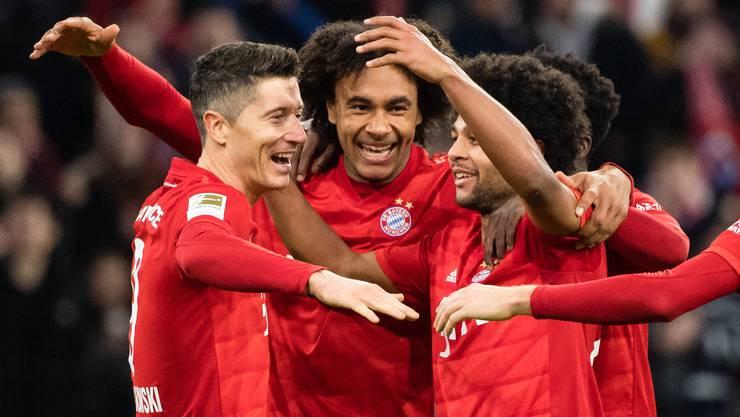 Bayern München jubelt auch gegen Schalke. (Archiv)