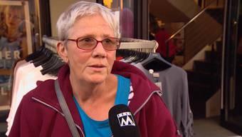 Das sagen die Passanten in Aarau zu den verurteilten Argus-Polizisten.