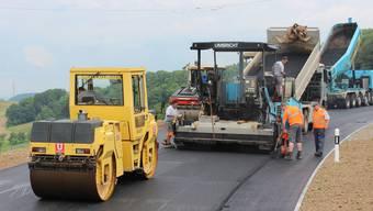 Belchenstrasse nach Sanierung bald wieder offen