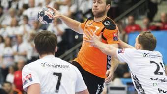 Gabor Csaszar (Mitte) und Kadetten mit guter Leistung in Slowenien (Archivbild)
