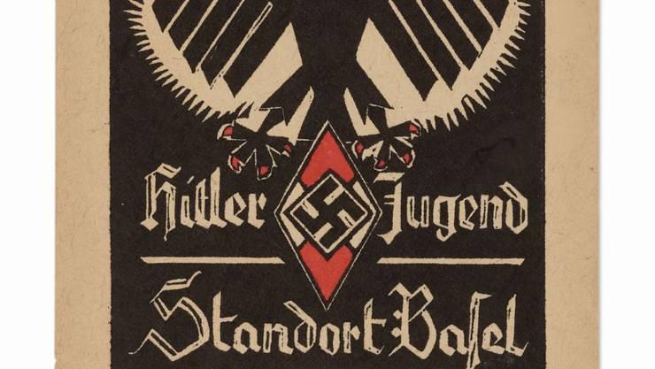 """Die Ausstellung """"Grenzfälle"""" im Historischen Museum Basel geht auch den Spuren der Nazis in Basel nach, wo es unter anderem eine Auslandsektion der Hitlerjugend gab."""