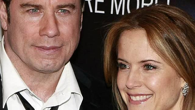 Werden noch einmal Eltern: Travolta und Preston
