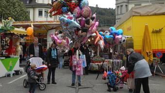 An der Herbstmesse in Laufenburg werden auch einige neue Stände für Abwechslung und Unterhaltung sorgen.