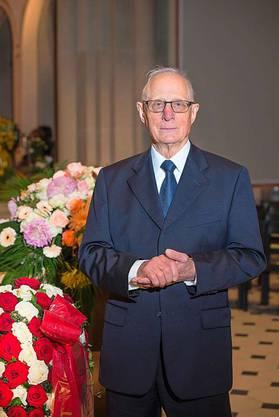 Werner Kriesi, pensionierter Pfarrer und ehemaliger Exit-Präsident.