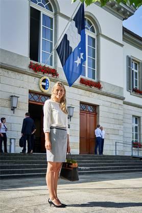 Die Wynentaler SVP-Grossrätin ging gestern zum letzten Mal als Parlamentarierin ins Grossratsgebäude. Sie hat in den 2,5 Jahren nie gefehlt.