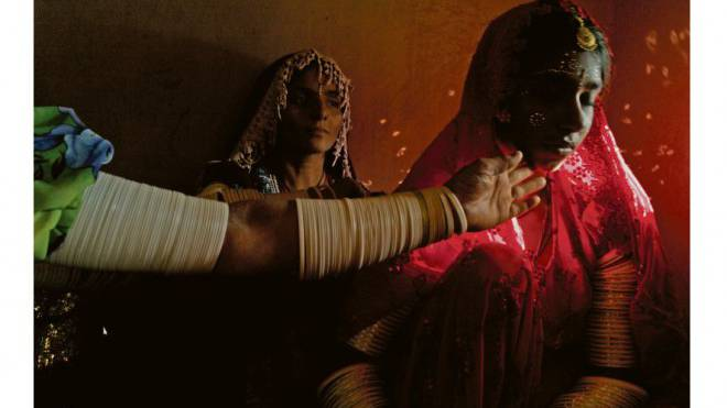 Besonders gefährdet, jung verheiratet zu werden: Mädchen aus Krisengebieten. Foto: Keystone/Noor/Alixandra Fazzina