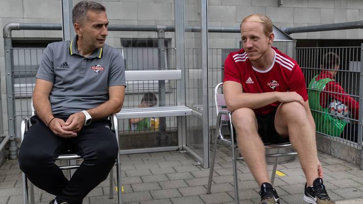 Badens Trainer Ranko Jakovljevic ärgert sich über einen möglichen Ausfall der Aufstiegsspiele.