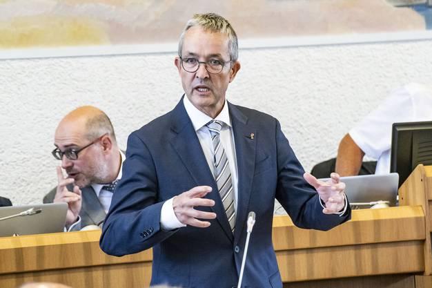 «Uns droht derzeit kein Abschreiber. Die Beteiligung an der MCH Group AG ist zum Nominalwert bilanziert» Thomas Weber Regierungsrat Basel-Landschaft (SVP)