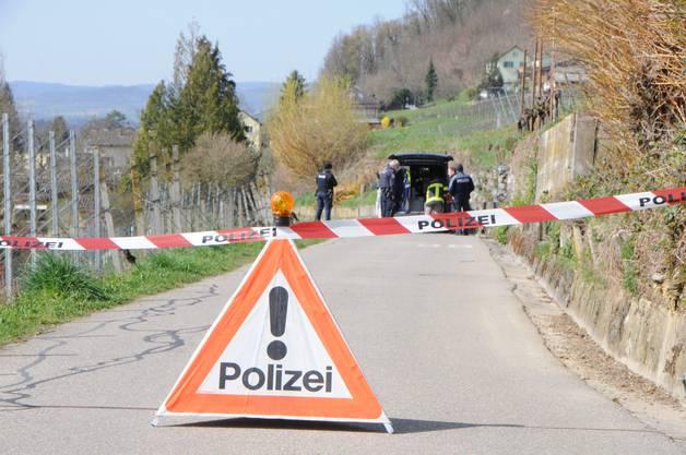 Bereits am Sonntag, 22. März, fand die Polizei Rückstände eines detonierten Sprengkörpers im Klingnauer Rebberg.