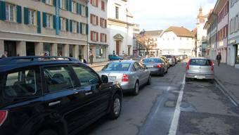 Die Kirchgasse soll zur autofreien Begegnungszone werden.