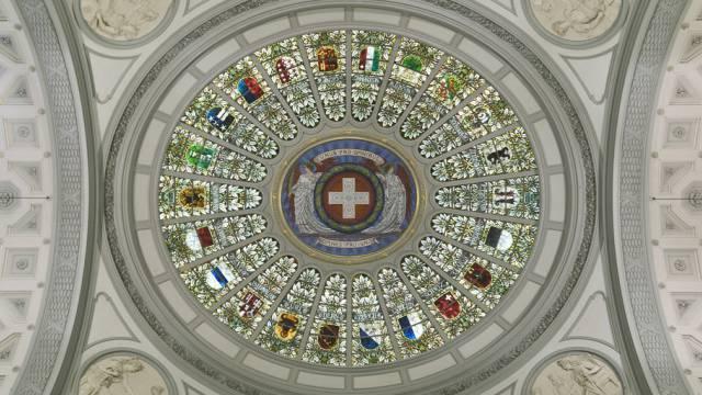 Decke des Bundeshauses: Einer für alle, alle für einen