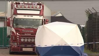 Im englischen Essex wurden am Mittwoch 39 Leichen in einem Lastwagen gefunden. Nun ist ihre Nationalität bekannt.