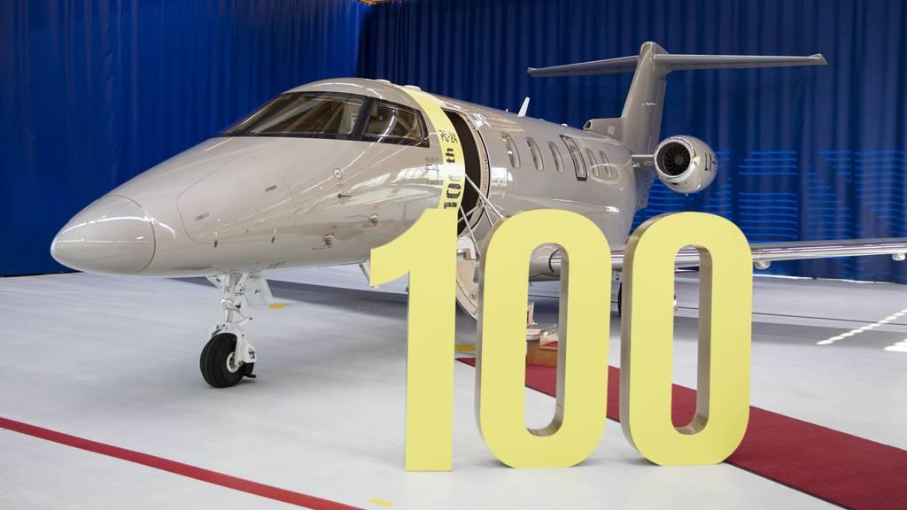 Pilatus liefert 100. PC-24 aus