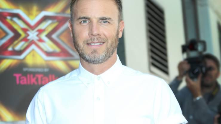 Die Braut hatte nur noch Augen für ihn: Take-That-Star Gary Barlow sang auf der Hochzeit eines weiblichen Fans (Archiv)