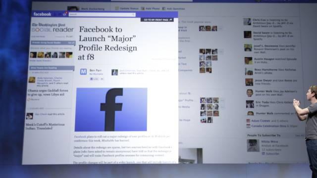 Das Profil eines Facebook-Mitglieds (Symbolbild)