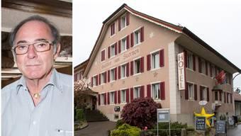 Hans Marti hat seinen «Sternen» als Asylunterkunft an den Kanton vermietet.