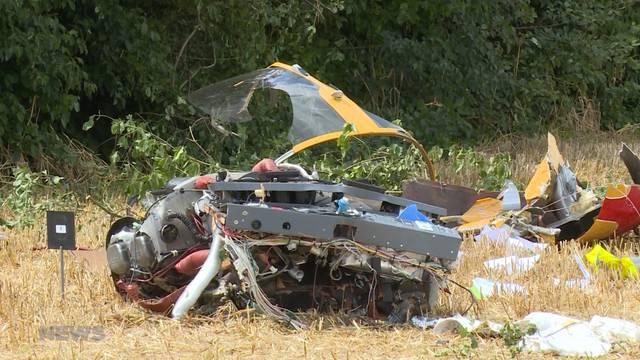 Flugzeugabsturz in Belp: Anwohner hatten Riesenglück
