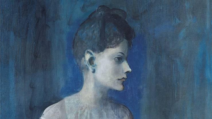 Pablo Picasso, «Femme en chemise». Fondation Beyeler