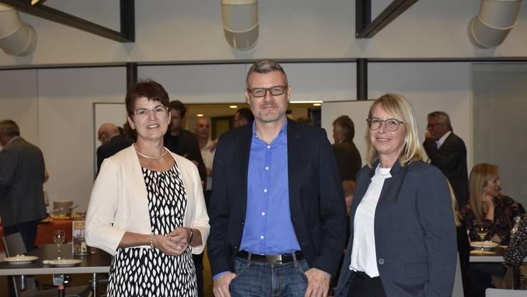 Rita Brem-Ingold, Harry Lütolf und Karin Kock-Wick (v.l.)gewinnen die Grossratswahl für die CVP-Bremgarten.