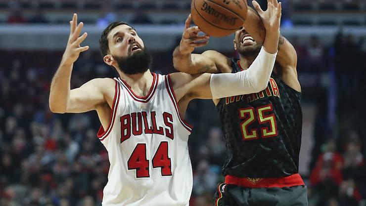 War von den Chicago Bulls teilweise nur schwer zu stoppen: Thabo Sefolosha (rechts)
