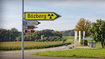 Das Gebiet Jura Ost rund um den Bözberg ist ein möglicher Standort für ein Atommüll-Tiefenlager. In der Regionalkonferenz reden auch Deutsche mit. (Fotomontage)