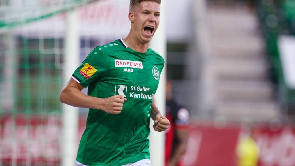 Itten verlässt den FC St. Gallen