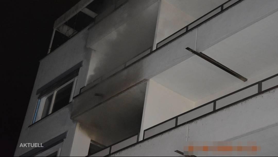 Ist der Wohnungsmieter nach Brand geflüchtet?