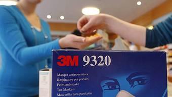 Frau an Schweinegrippe erkrankt und im Inselspital Bern isoliert.