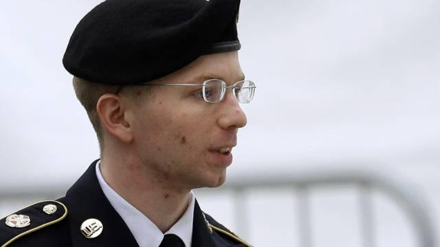 Wikileaks-Informant Bradley Manning (Archiv)