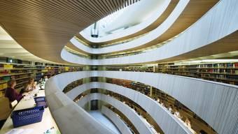 Die Bibliothek der Rechtswissenschaftlichen Fakultät der Universität Zürich.