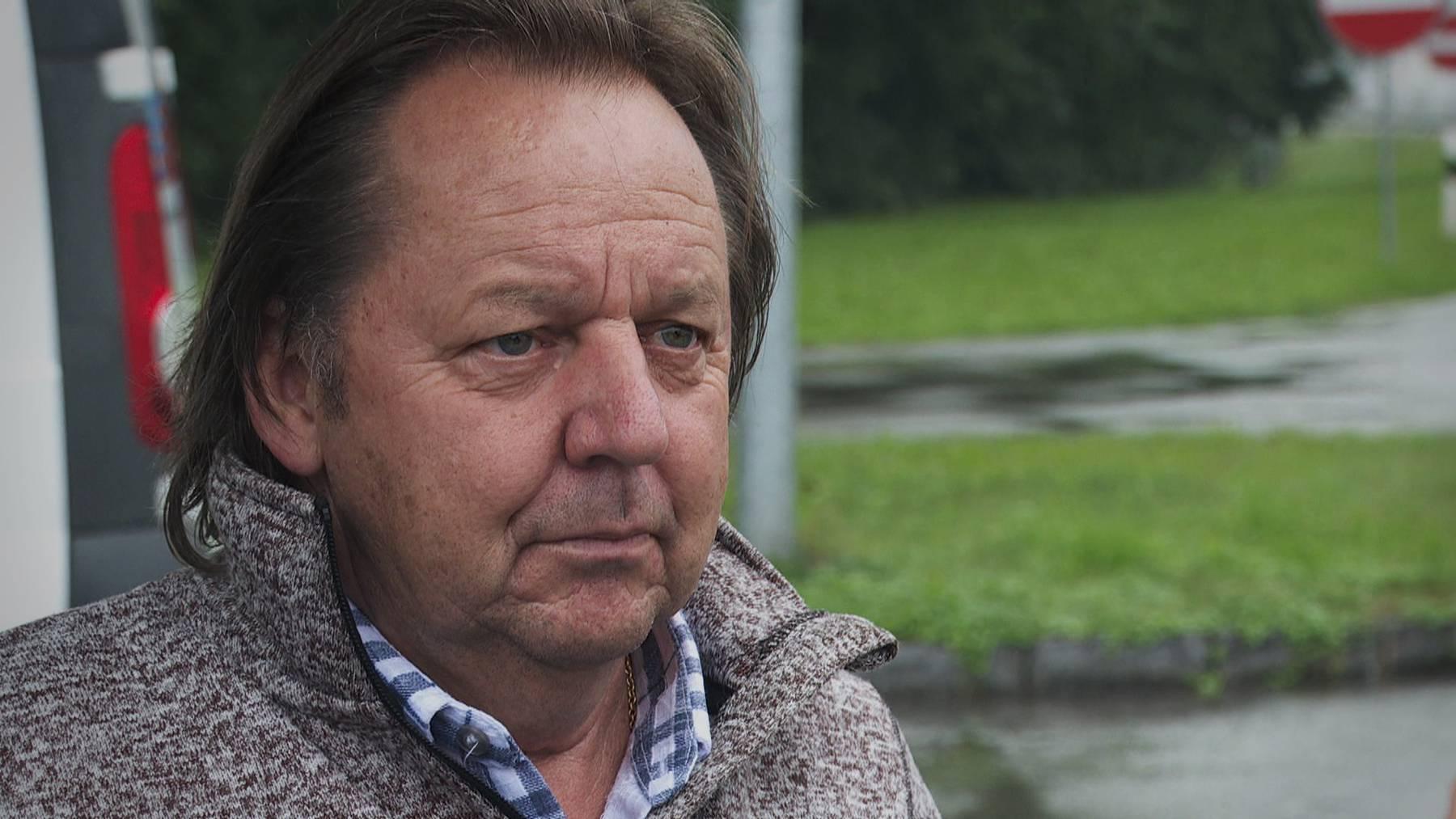 Beat Breu ist sauer auf die Zirkusfamilie Lauenburger.