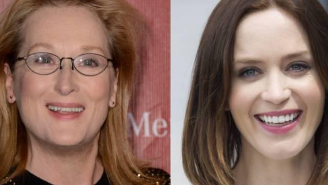 Meryl Streep (links) und Emily Blunt (Archiv)