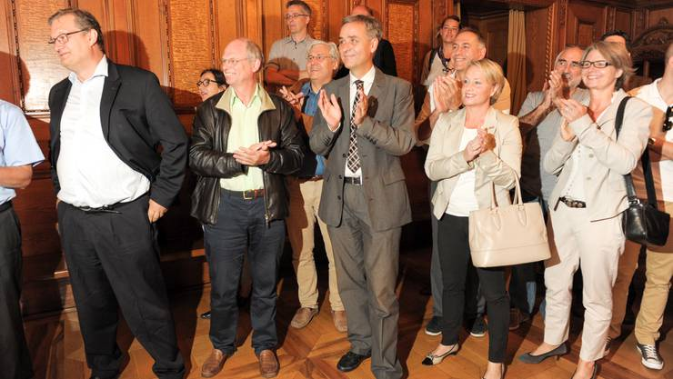Die Freude bei den Befürwortern in Basel war trotz allem gross.